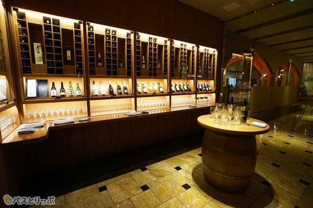 ワインセラーも完備!食事と一緒にワインも味わえる幸せ