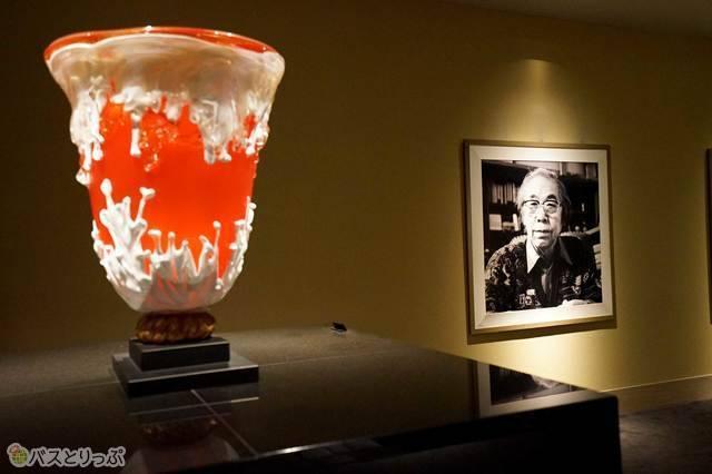 アートな休日を楽しめる藤田喬平ガラス美術館