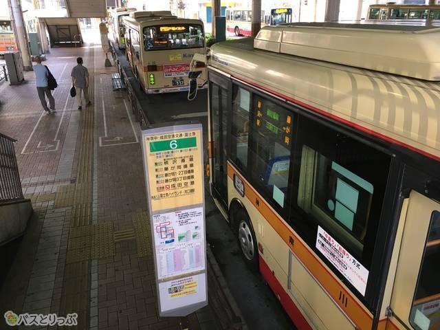 藤沢駅バス停