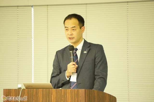 西日本ジェイアールバス株式会社 林田広司氏