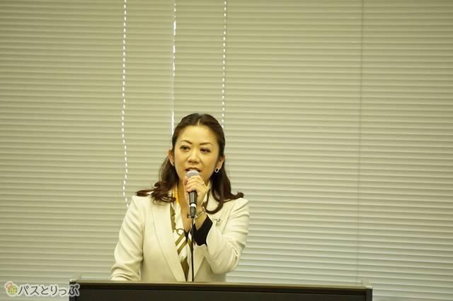 司会を務めたリッツMC株式会社 中嶋美恵氏
