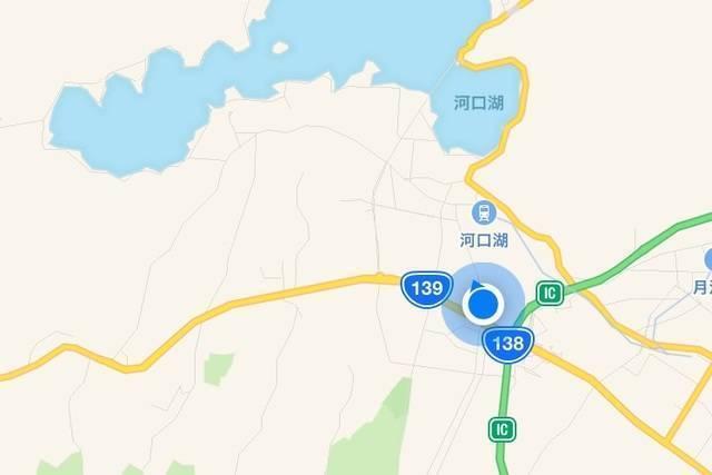 富士急ハイランドから河口湖駅まで意外と近い!.jpg