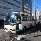 約4時間で松本駅お城口バス停に到着
