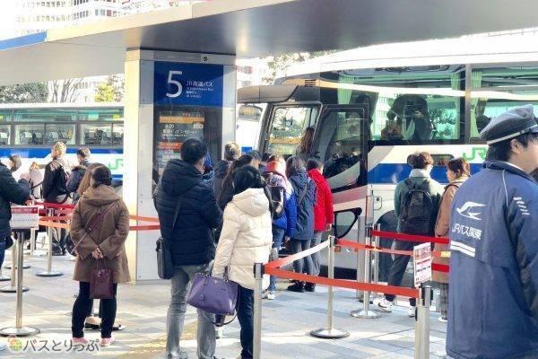 東京駅の高速バス乗り場.jpg