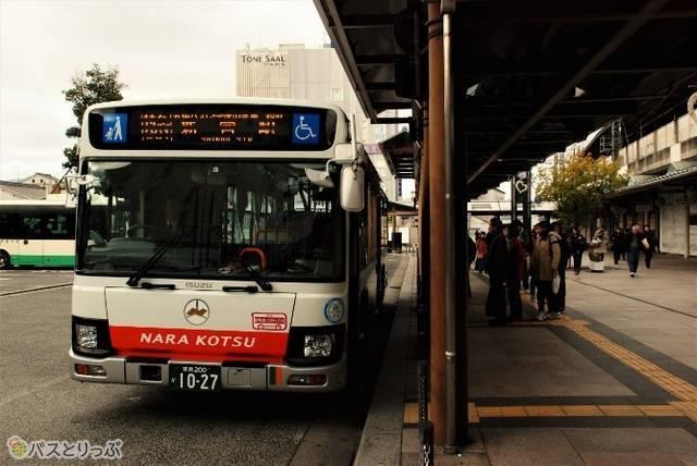 八木発新宮駅行きの八木新宮特急バス