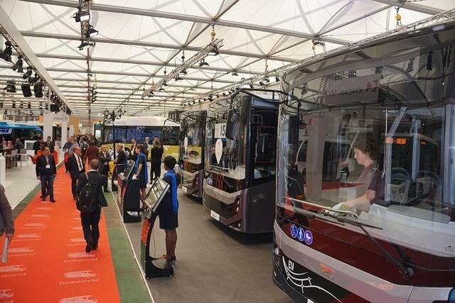 「Busworld Europa 2017」会場