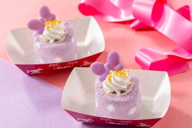 デイジーダックのロールケーキ (c)Disney