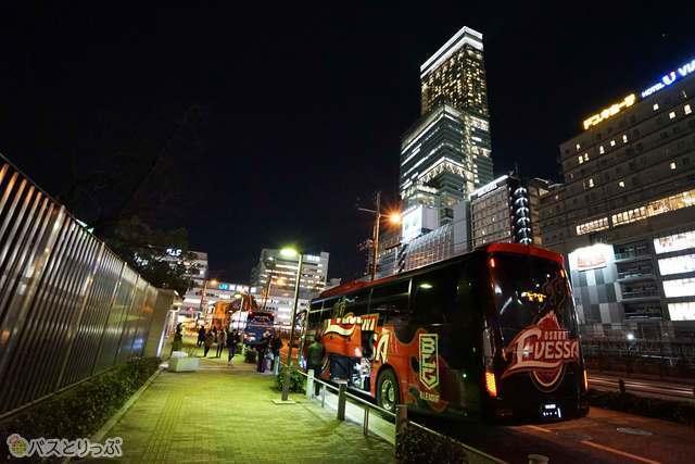 南大阪方面から利用の方はこちら天王寺が便利です