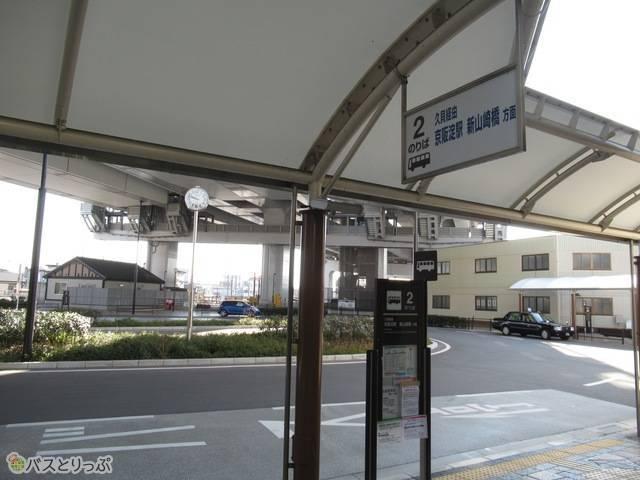 路線バス乗り場
