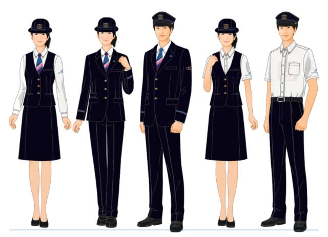 西日本JRバス新制服