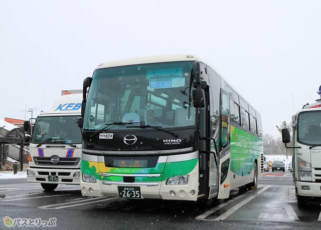 宮城交通「ブルーシティ号」 2635_14 前沢SAにて_05.jpg
