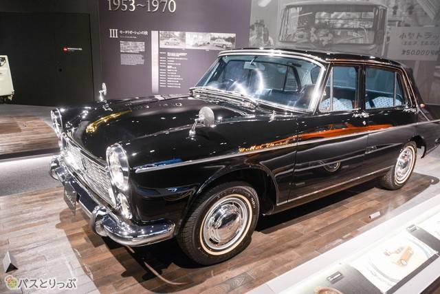 日本初の本格的ディーゼルエンジン車として、1961年(昭和36)から販売された「ベレル」