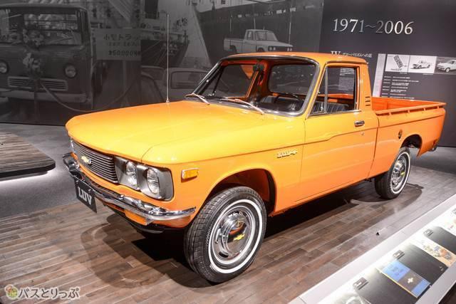 アメリカのシボレーとの業務提携で1972年(昭和47)から販売された「シボレー LUV」