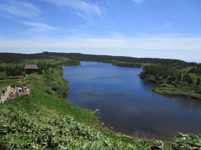 「八幡沼」の風景