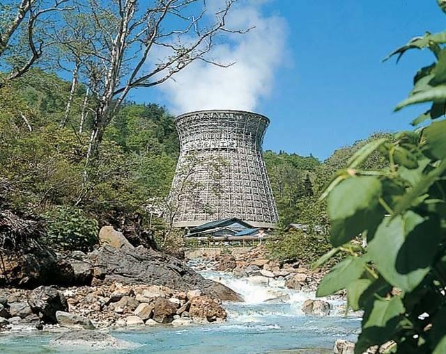 日本初の地熱発電所「松川地熱発電所」