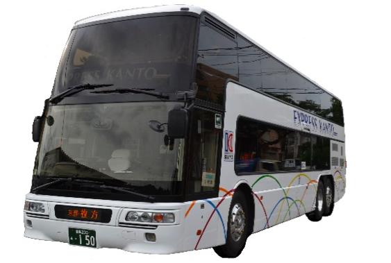 関東バス運行便の車両イメージ(一例)