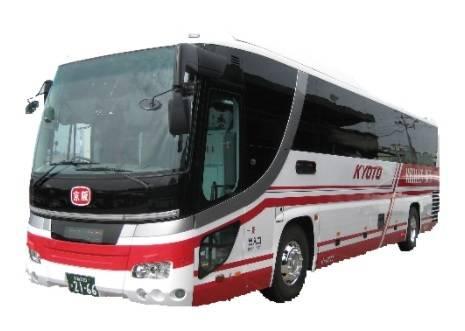 京阪バス運行便の車両イメージ(一例)