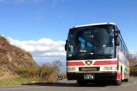 八幡平周辺を走る「自然散策バス」