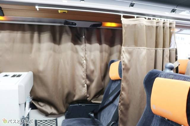 遮光性の高いプライベートカーテン