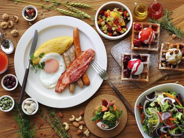 朝食ビュッフェ「北海道の美しい朝食」