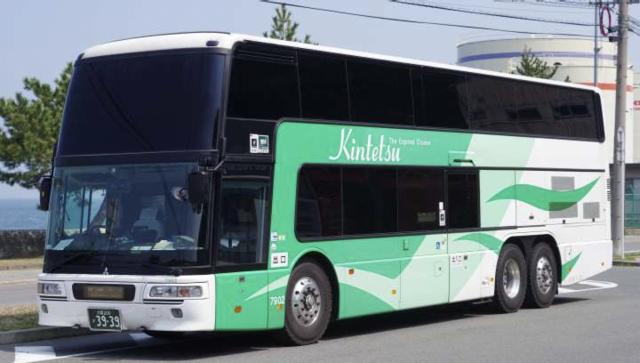 2階建て高速バス「7902号」