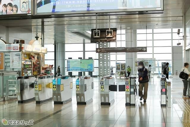 東静岡駅改札