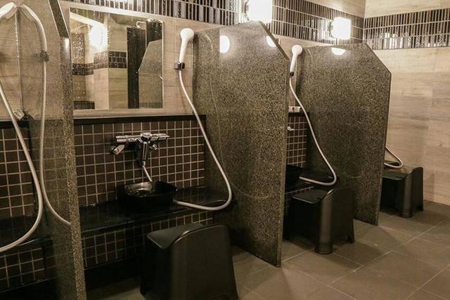 大浴場シャワー(画像提供:おもてなしのお宿様)