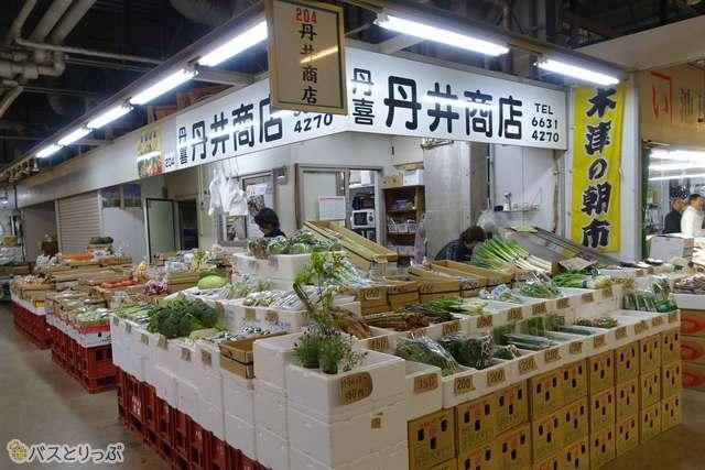 野菜の種類も実に豊富