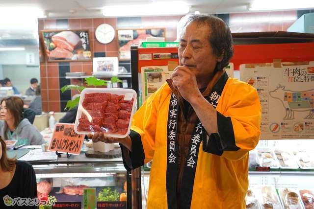 木津卸売市場でも人気の和島精肉店