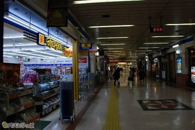 JR新潟駅在来線 東口改札周辺
