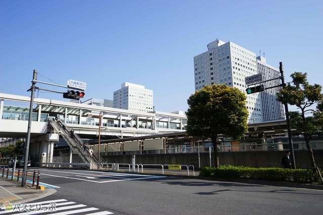 じつは意外に便利な大崎駅西口バスターミナル