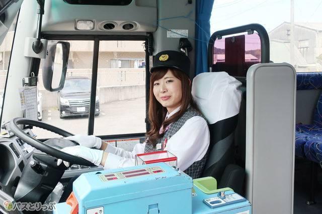 石見交通の高速バス運転士 川上さん