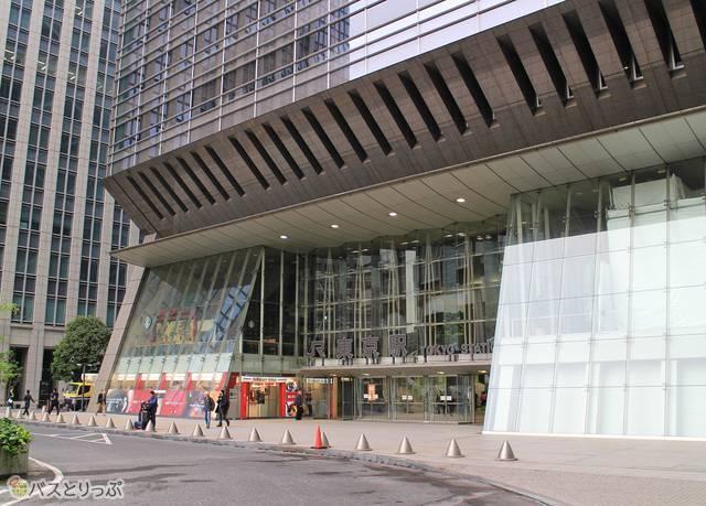 東京駅日本橋口到着