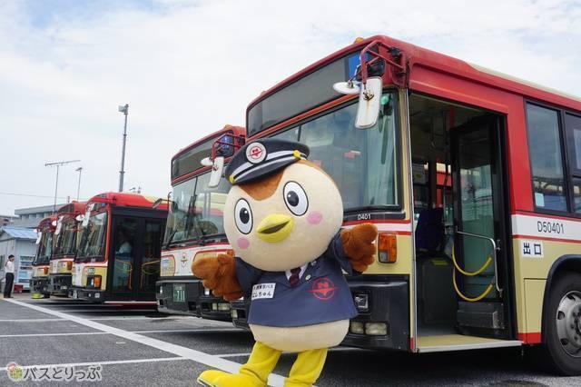 第1回優勝・西東京バス「にしちゅん」