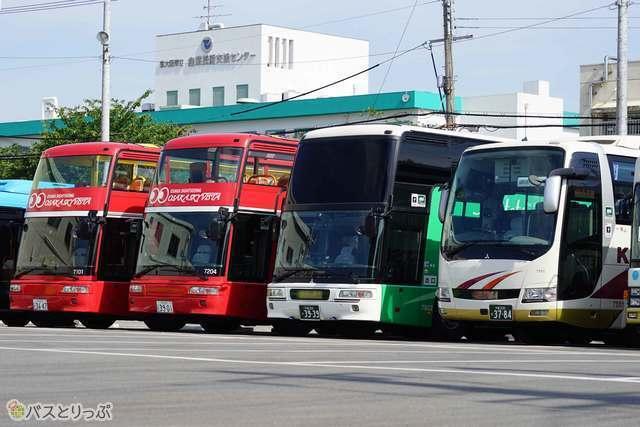 近鉄バスに3つある営業所のひとつ布施営業所