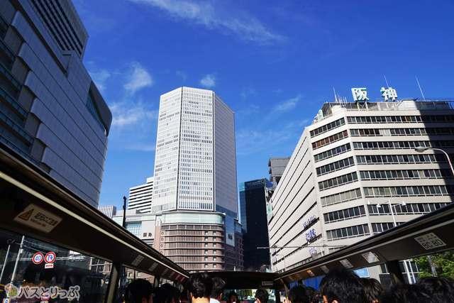 大阪駅前周辺