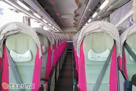 WILLER EXPRESS(ウィラーエクスプレス)の高速バス「リラックス《NEW》4列シート」ダブルシート乗車記【東京→仙台】