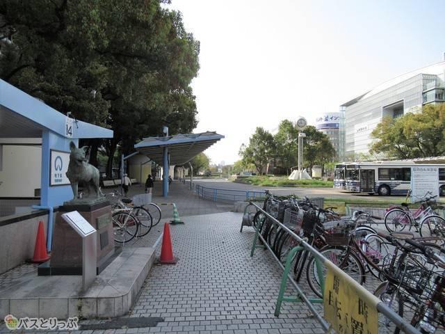 噴水南バスターミナル