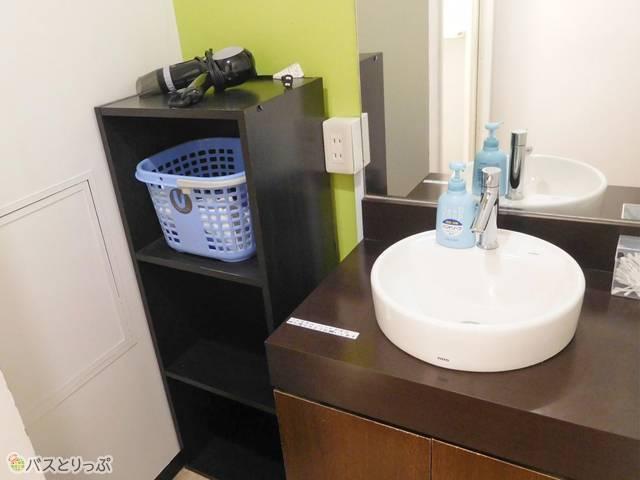 洗面所が別々なので使いやすい!