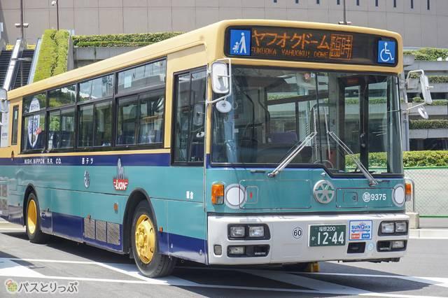 「青バス」カラーを再現