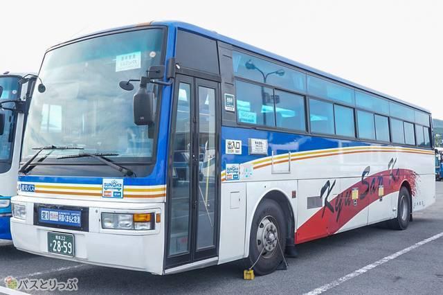 九州産交バスの車両1