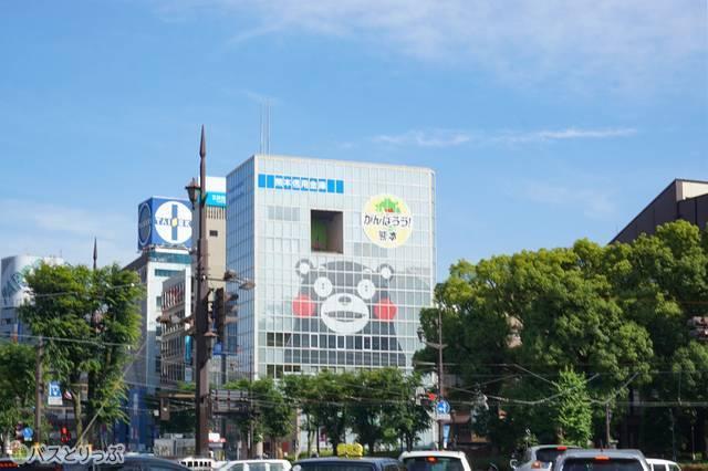 熊本の有名キャラクター「くまモン」も発見