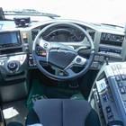 「いすゞガーラHD-9」運転席