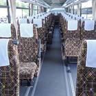 車椅子用スペースも確保した座席
