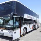 ジャムジャムエクスプレス 2階建て夜行高速バス・アストロメガ
