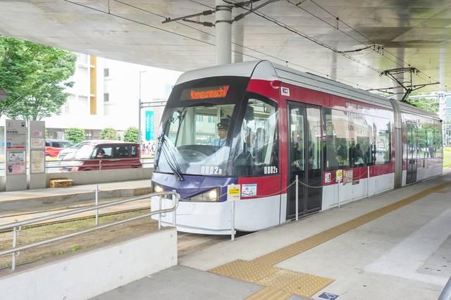 市電「熊本駅前」