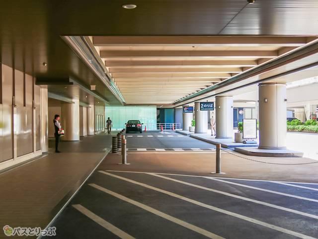 なんば高速バスターミナルに到着!