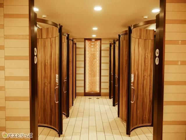 エキマルシェパウダールーム トイレ