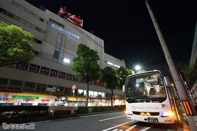 神戸三宮はこの場所から乗車