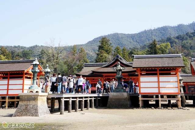 厳島神社3つ目はこの平舞台